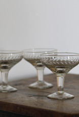. ETCHED CHAMPAGNE COUPE