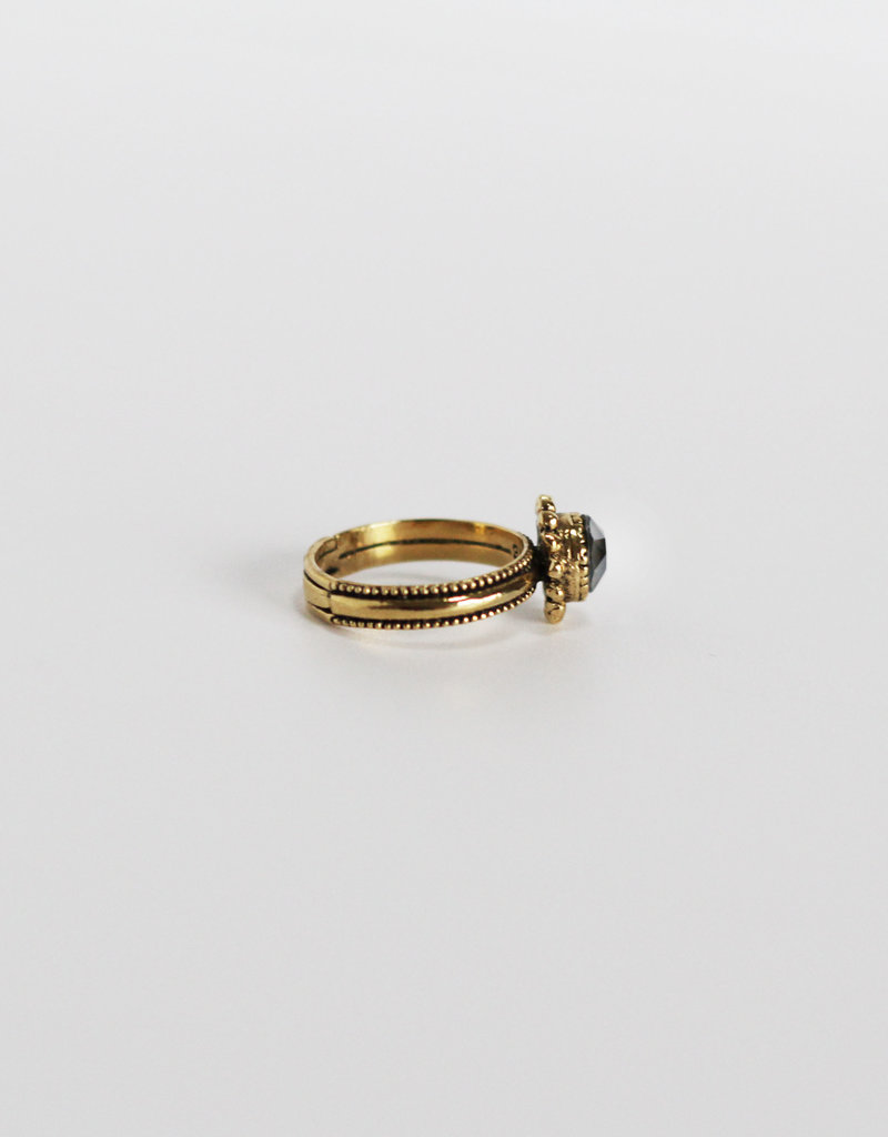 . MADELINE GOLD PLATED RING