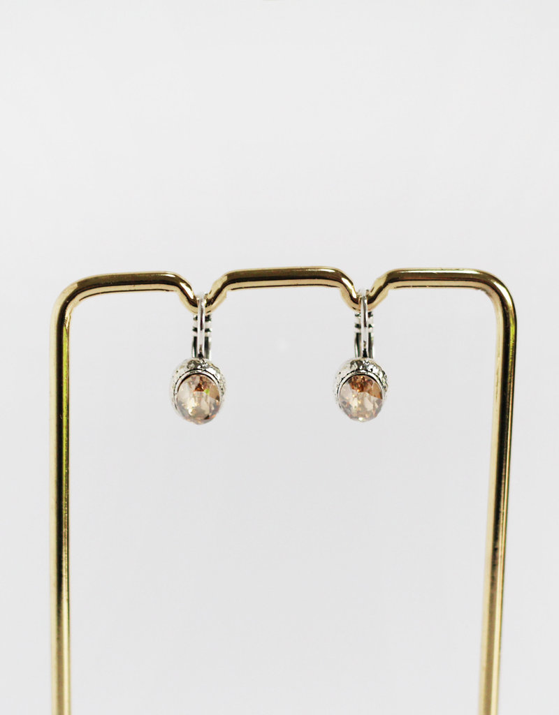 . CLAIR SILVER PLATED EARRING
