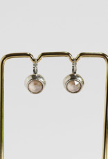 . GENEVIEVE SILVER PLATED EARRING