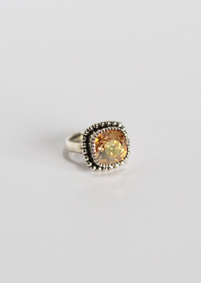. ELOISE SILVER PLATED RING