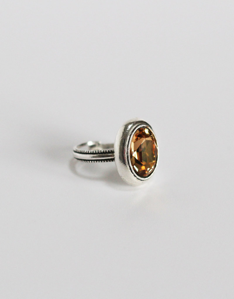 . SELENA SILVER PLATED RING