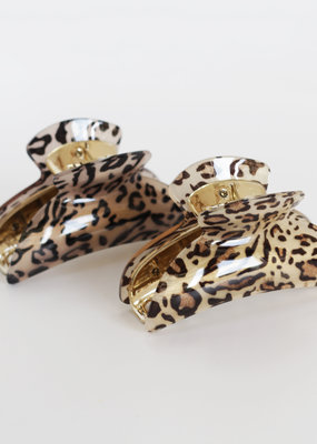 ANIMAL PRINT JAW CLIP・More Colours