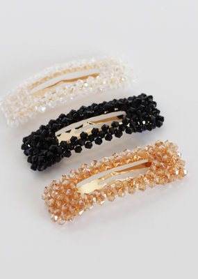 Busby & Fox JACKIE CRYSTAL HAIR CLIP・More Colours