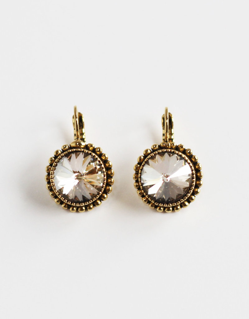 . CLAUDETTE GOLD PLATED EARRINGS