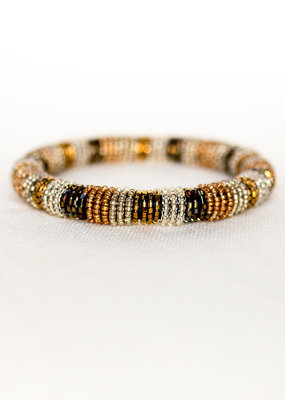 . DORIS BEADED BANGLE