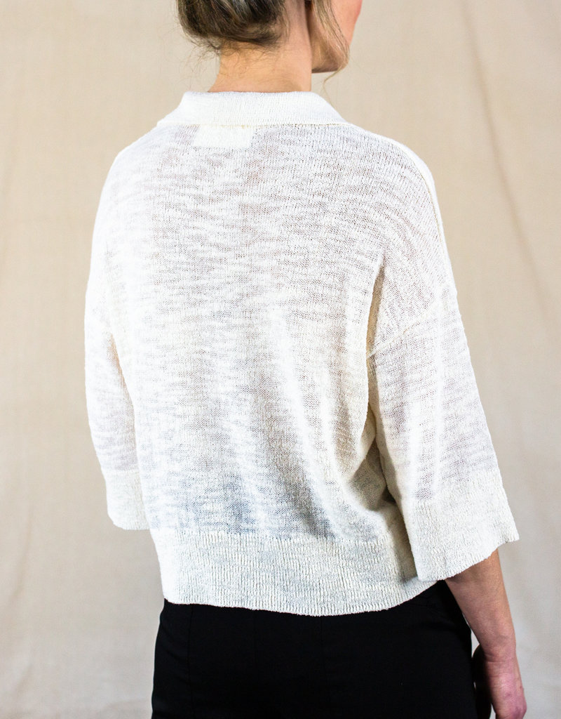 OTTIE SHORT SLEEVE KNITTED TOP