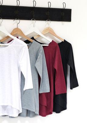 . COVE RAW EDGE T-SHIRT · Colours