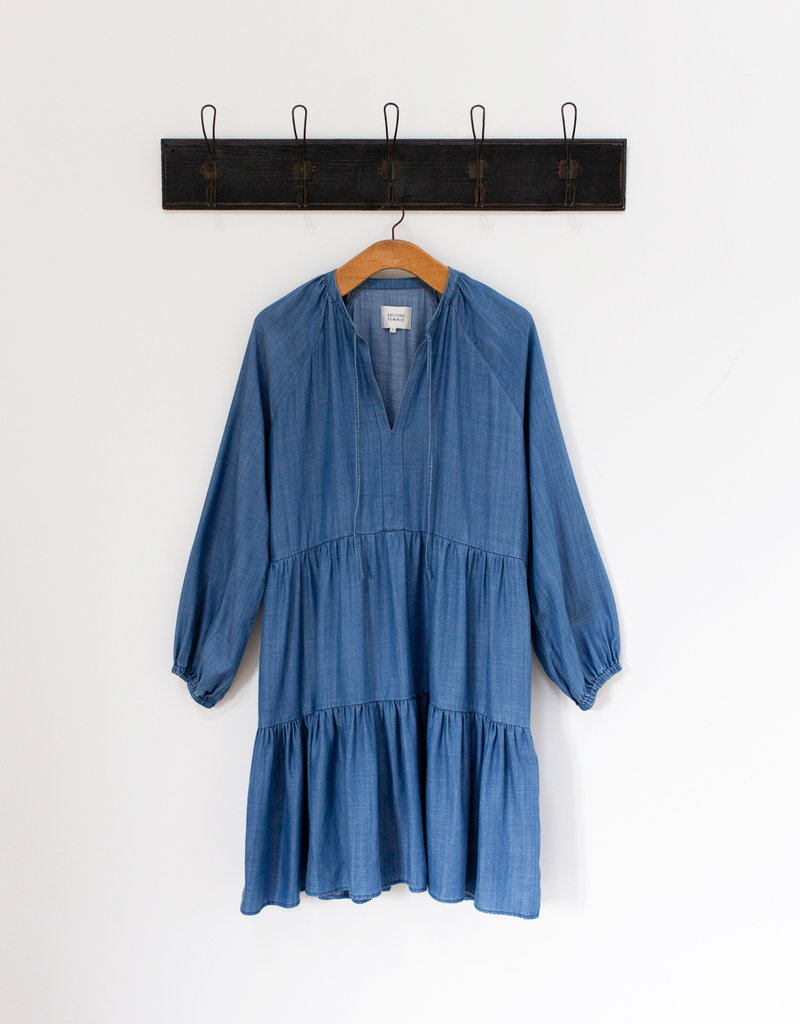 LILLA CHAMBRAY DRESS