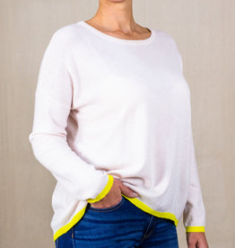 TIPPED CASHMERE SWEATER · Colours