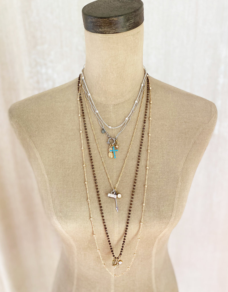 Emma Vowles SALA SILVER PLATED CHAIN NECKLACE