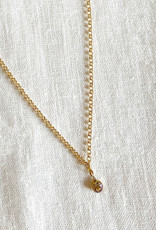 . KYRIA GOLD PLATED CHARM NECKLACE