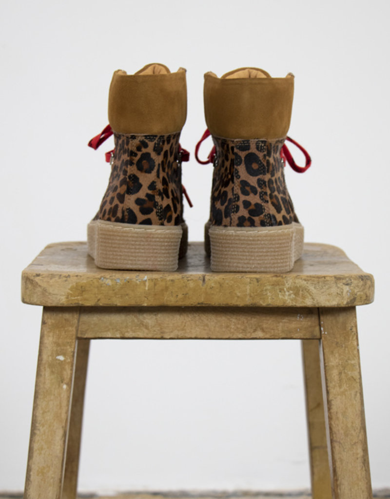 Shoe the Bear AGDA ANIMAL LACE-UP BOOTS