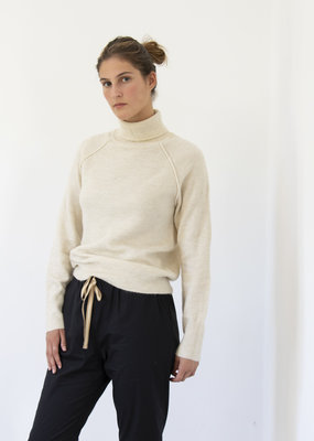 RAINEY RECYCLED ROLL NECK SWEATER