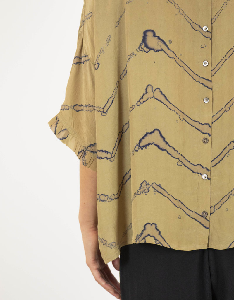 GIG WATERCOLOUR PRINT TOP