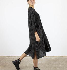 MOLLA PLISSE-DETAIL DRESS