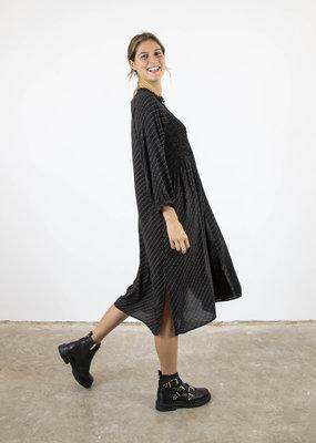 Second Female MOLLA PLISSE-DETAIL DRESS