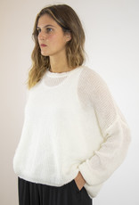 . FLORIN RELAXED ROUND NECK SWEATER