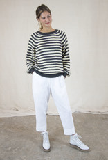 Lolly's Laundry LANA STRIPED LONG SLEEVE SWEATER