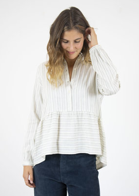 LIGA STRIPE TIERED SHIRT