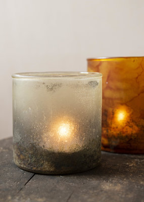 . ETHEREA GLASS TEALIGHT HOLDER Small