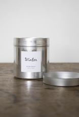 . WINTER TIN CANDLE 30cl