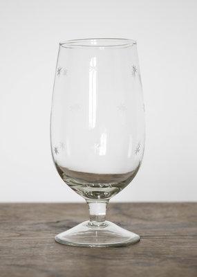 . STELLA STAR CUT WINE GLASS