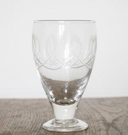 Busby & Fox ABBEY CUT GLASS WINE GLASS