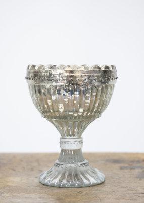 Busby & Fox EDWARDIA GLASS BOWL WITH FOOT