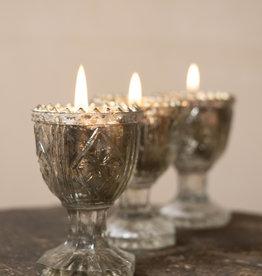 . EDWARDIA GLASS TEALIGHT HOLDER