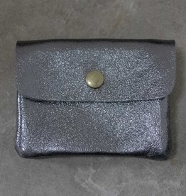 Busby & Fox METALLIC LEATHER PURSE · Colours