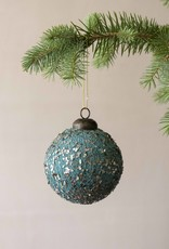 . BAUBLE WITH GUNMETAL FLAKES