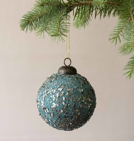 Busby & Fox BAUBLE WITH GUNMETAL FLAKES