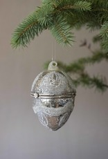 Busby & Fox ANTIQUED GLASS EGG DECORATION