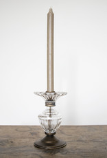 Busby & Fox LORA ANTIQUED GLASS CANDLESTICK