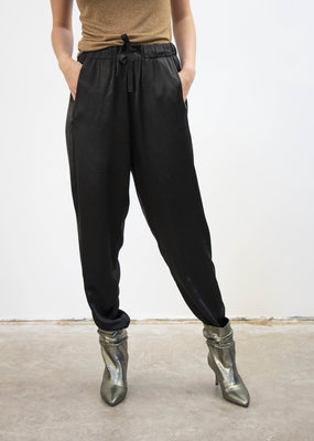 Emma Vowles RENEÉ TAPERED SATIN TROUSERS