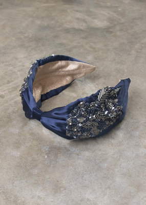CHIARA ORNATE BEADED HEADBAND