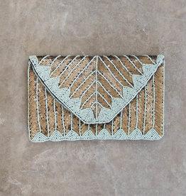 Busby & Fox GRETA SEQUIN CLUTCH BAG