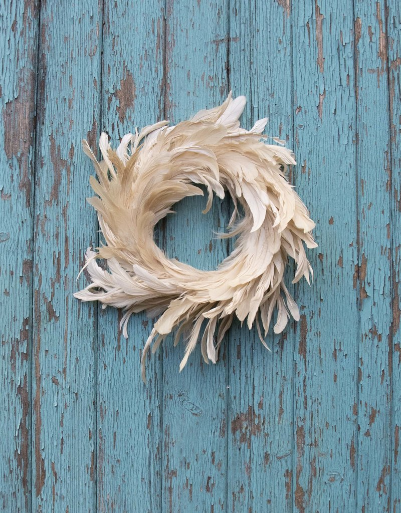 . FEATHER WREATH
