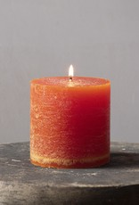 . COLOURED PILLAR CANDLE