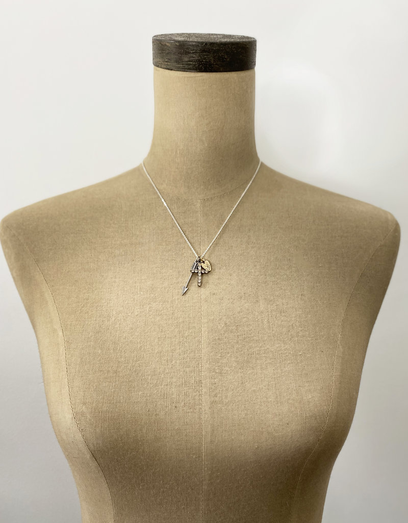 . ALAIA CHARM NECKLACE