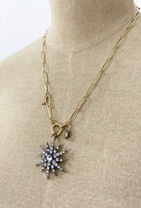 . BRIANNA CHARM NECKLACE