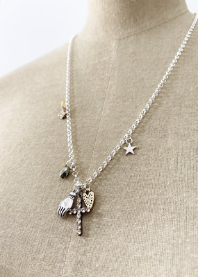 . CALISTA CHARM NECKLACE