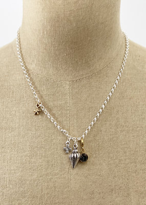 . ELODIE CHARM NECKLACE