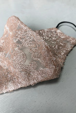 . LACY SEQUIN FACE MASK