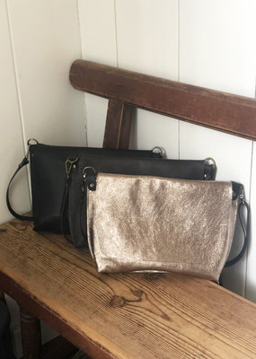 . BUSBY LEATHER CROSSBODY BAG