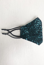 Busby & Fox SPARKLY SEQUIN FACE MASK
