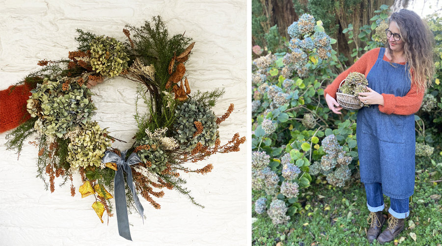 Winter Wreath-Making With Emma