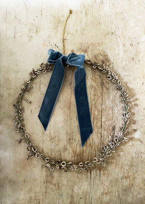 Busby & Fox ANTIQUED WIRE WREATH