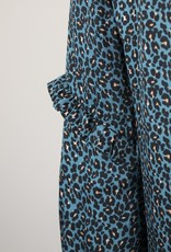 Dolly + Frida PERNILLE RELAXED LEOPARD PRINT DRESS